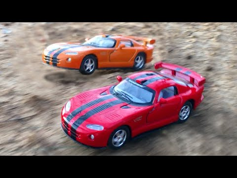 KIDS Toys CARS Dodge Viper AMAZING Offroad RACE Super Fast Playtime Toy Street Vehicles for Kids Fun