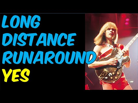 Long Distance Runaround (Yes) Guitar Lesson