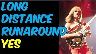 How To Play Long Distance Runaround (Yes)