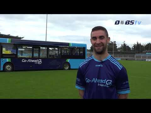 James McCarthy chats to DubsTV at announcement of Go-Ahead as Dublin Leagues & Championships sponsor