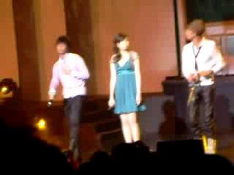 Aaron & Calvin @ Sunshine Nation 2008-Zhi Dui Ni You Gan Jue