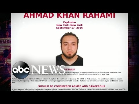 Photo of Man Wanted in NYC Bombing Released
