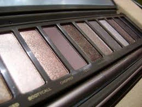 Daytime Gray Naked 2 Palette Makeup