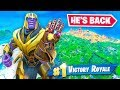 Thanos is back in fortnite avengers endgame mp3 indir