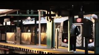 MTA New York City Subway (B) &(Q) Trains @ Kings Highway Station (PM Rush Hour)