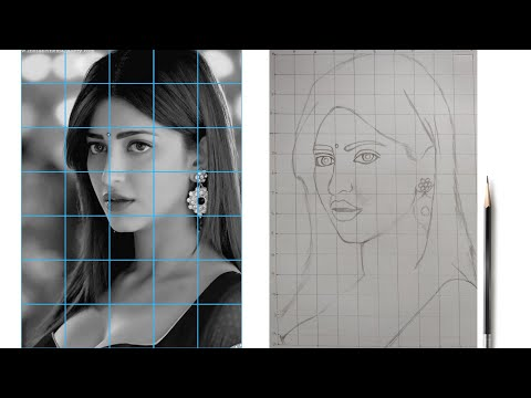 how-to-draw-outlines-for-face-portrait??-|-for-beginners