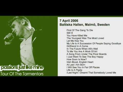 MORRISSEY - April 7, 2006 - Malmo, Sweden (Full Concert) LIVE