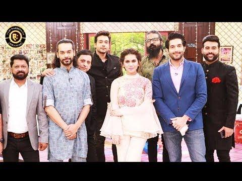 Salam Zindagi - Cast of Rangreza Special  - Top Pakistani Show