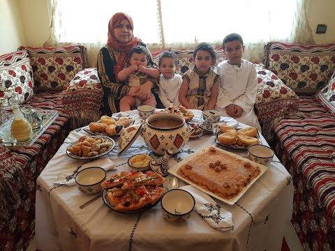 مائدة رمضانية متنوعة حضرت ليكم وصفات سهلة و سريعة