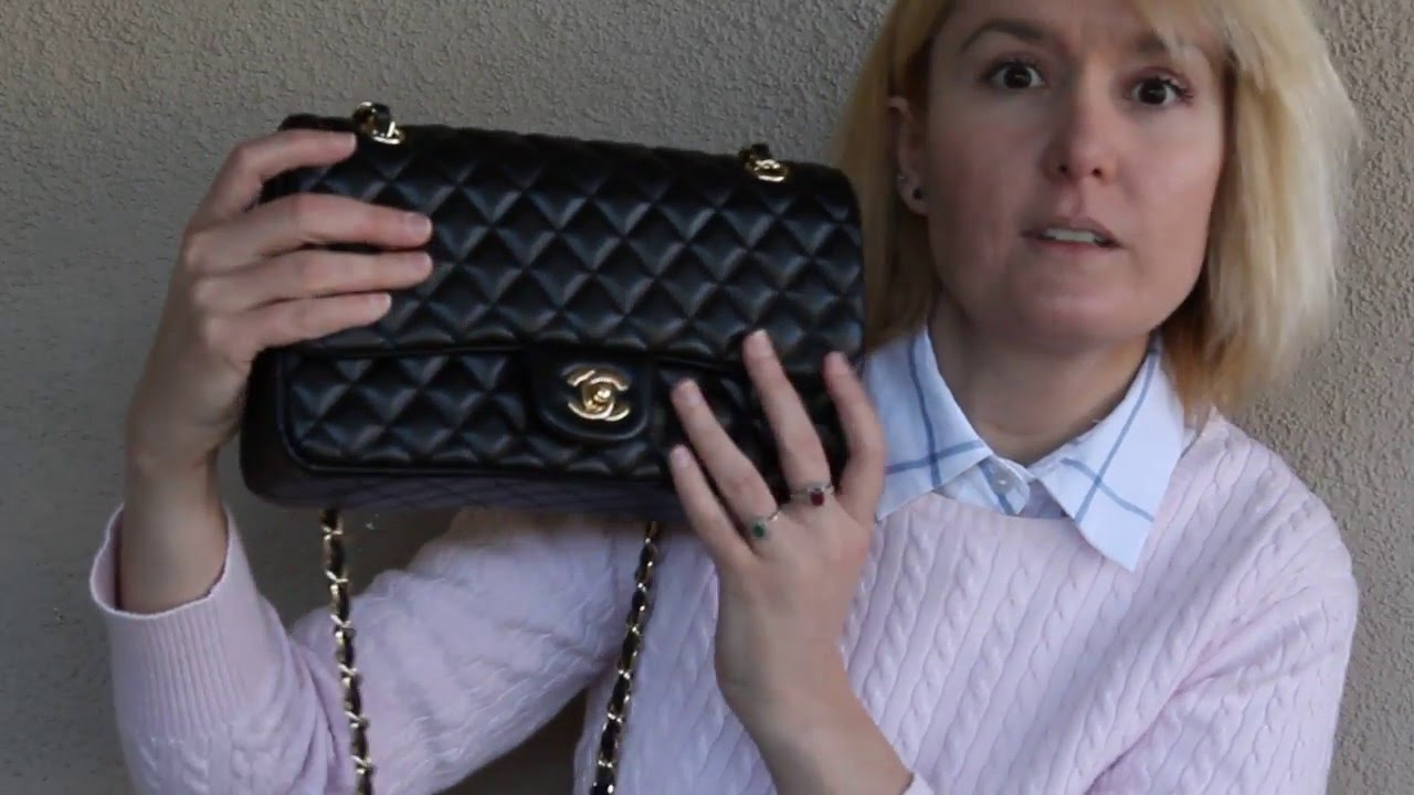 a0c98841a208fe Opening Chanel Small Classic Flap Bag 2016 - YouTube