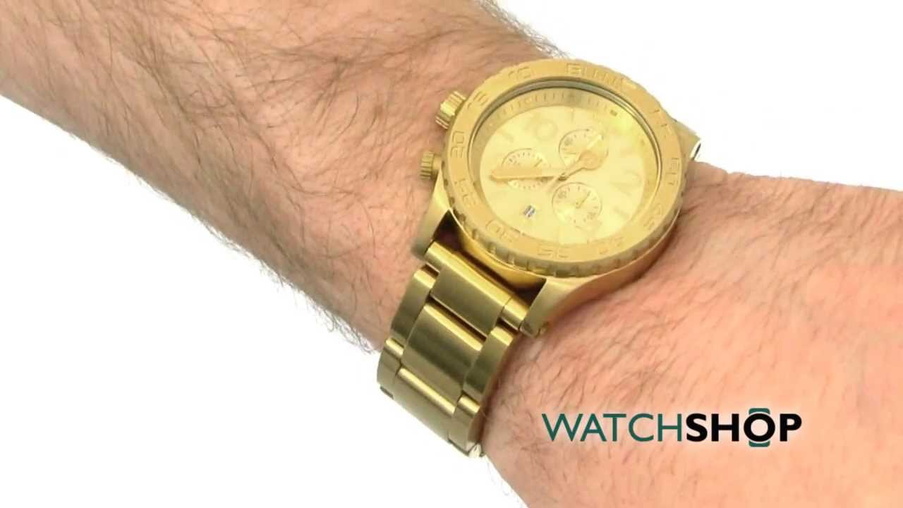 how to set time on nixon watch 51 30
