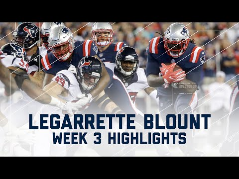 LeGarrette Blount Highlights | Texans vs. Patriots | NFL Week 3 Player Highlights