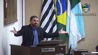 14ª Sessão Ordinária - Vereador Daniel Sotto