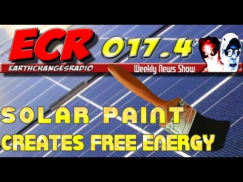 ECR 17.4 - Is Solar Paint the new energy Wonder Tech product?