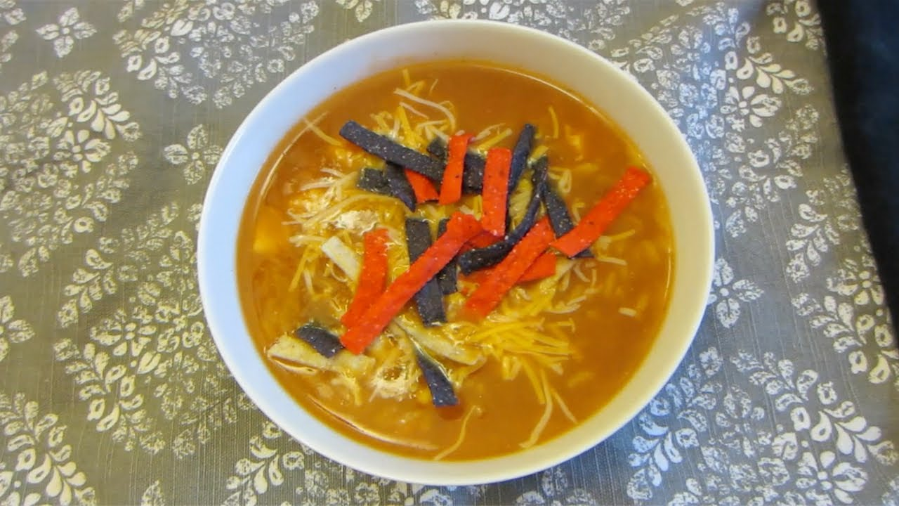 Chicken tortilla soup recipe theplussideofthings youtube chicken tortilla soup recipe theplussideofthings forumfinder Image collections