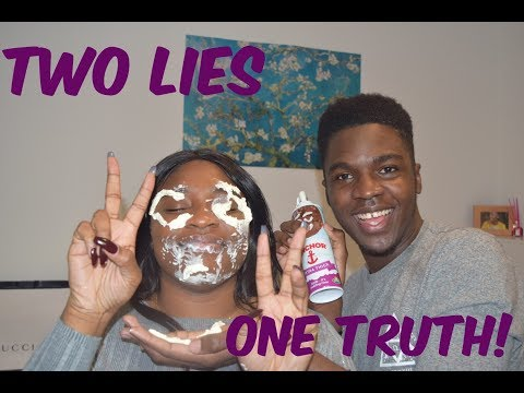 TWO LIES ONE TRUTH WITH A LIL TWIST!