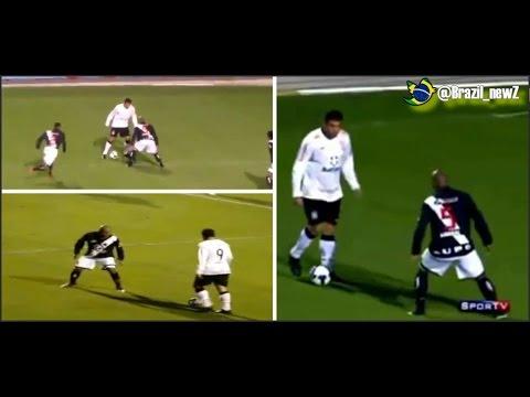 The famous Brazilian trick by Phenomenon Ronaldo Vs Vasco from three angles
