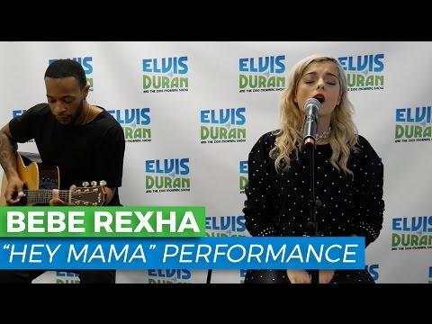 "Bebe Rexha - ""Hey Mama"" Acoustic | Elvis Duran Live"