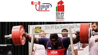 Men Open, 120+ kg - World Classic Powerlifting Championships 2017