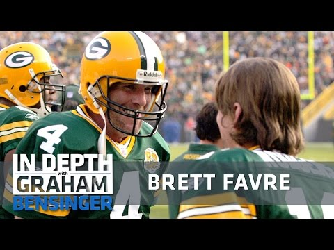 Brett Favre: Not my job to mentor Aaron Rodgers