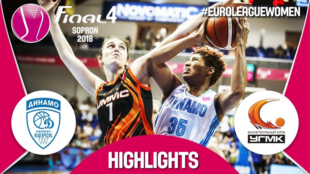Dynamo Kursk (RUS) v UMMC Ekaterinburg (RUS) - Highlights - Semi-Final