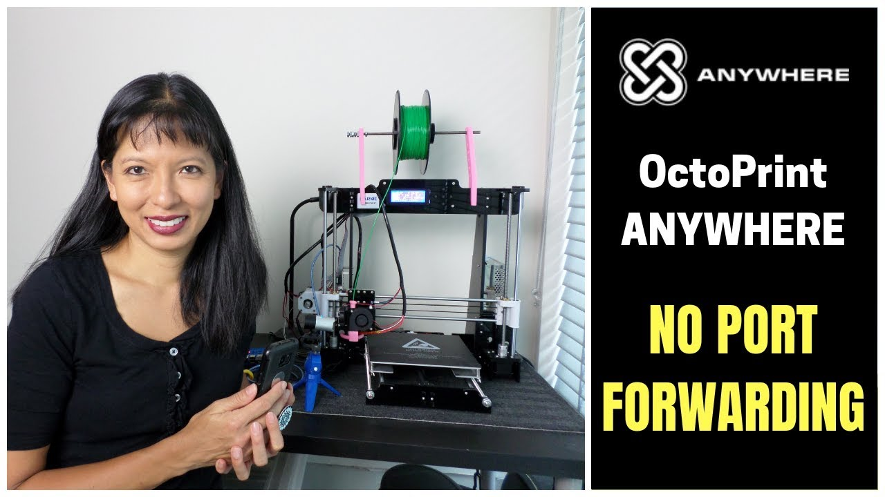 OctoPrint Anywhere Plugin Demo and Install