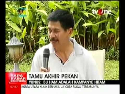 Sosok Letjen Purn Muhammad Yunus Yosfiah