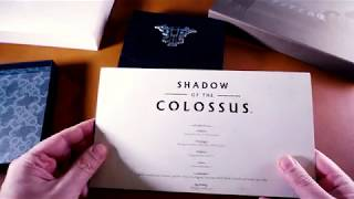 Shadow of the Colossus Remake Press Kit | Unboxing