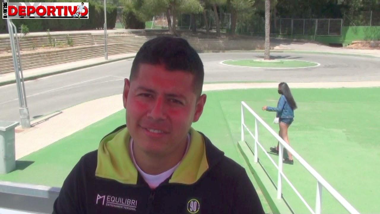 Declaraciones después del partido del capitán y del entrenador del Infantil del At. Callosa