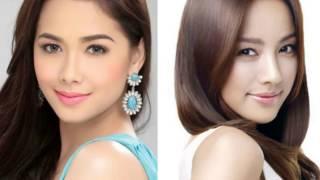 Filipina & Korean Actresses