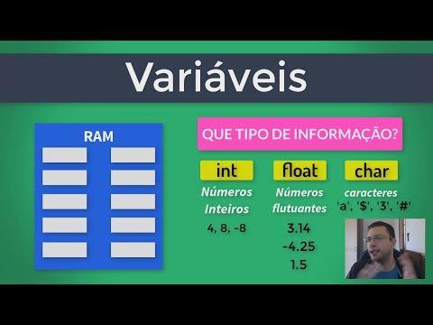 Aprenda De Uma Vez O Que São Variáveis! Curso PIC E Arduino
