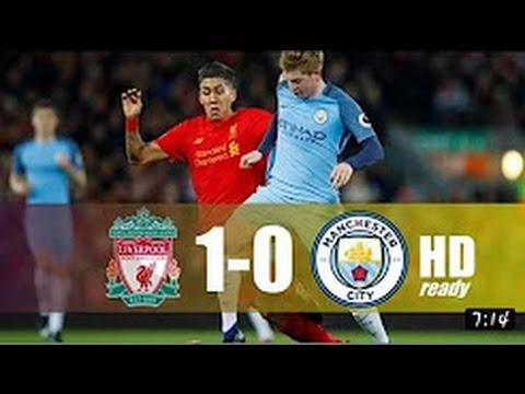 Liverpool vs Manchester City 1-0 All goals & Highlights - Premier League 12/31/2016