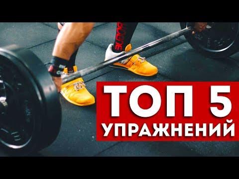 Всего 5 упражнений, которые прокачают все мышцы (вот это эффект)