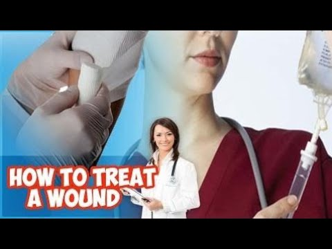 wound care  |first aid |  How to Treat a Wound-Healthy Wealthy