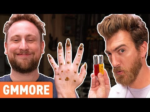 We Tried Giving An Acrylic Manicure