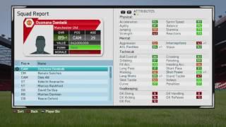 FIFA 16 CAREER OUSMANE DEMBELE FULL POTENTIAL (89+)