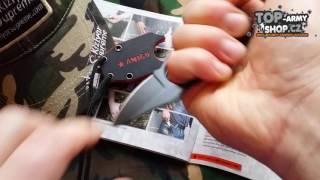 Představení Nože na krk Amigo X KIZLYAR SUPREME® D2