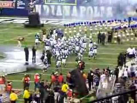 Colts - Saints 2007 Opening Week Colts Introduction