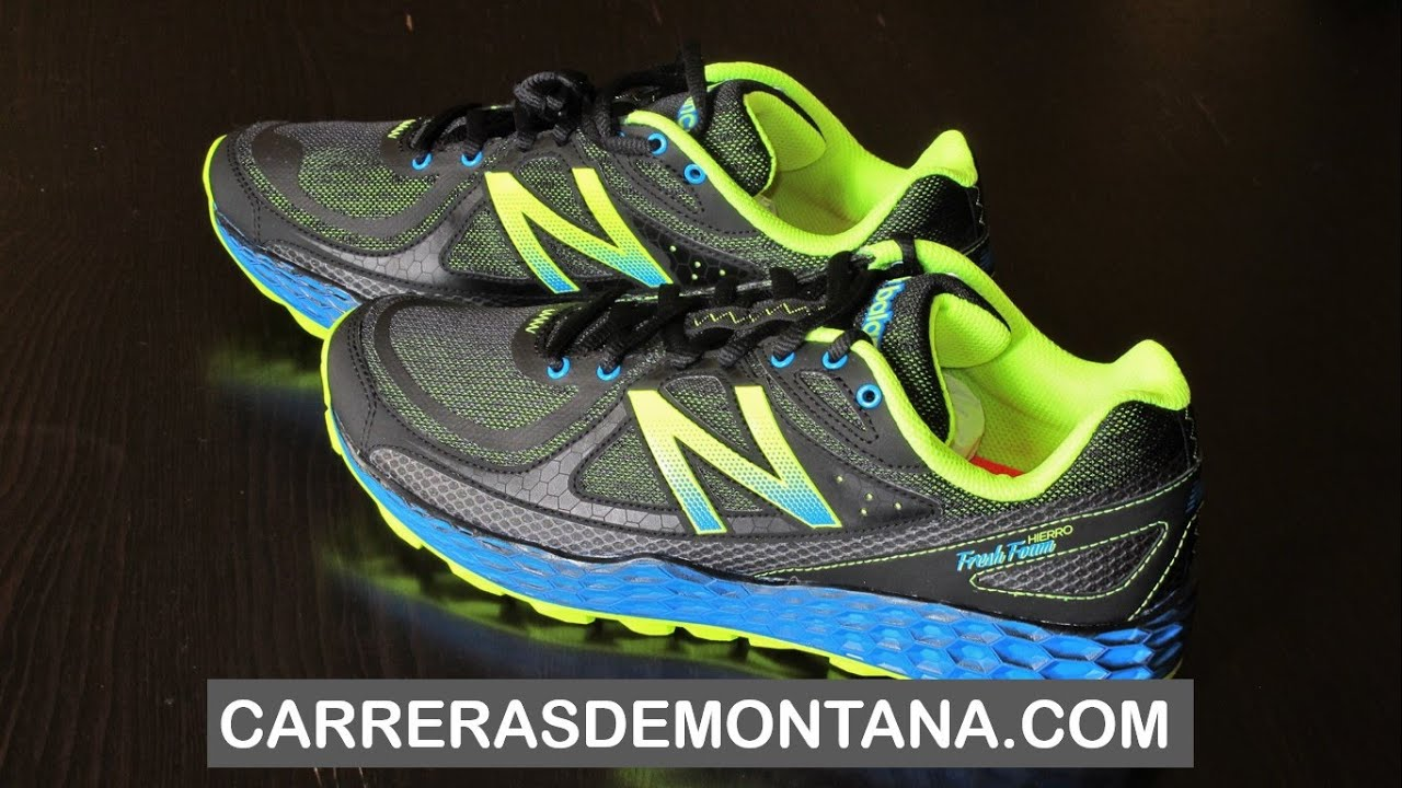 zapatilla de trail new balance hierro v2