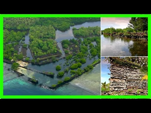 Has atlantis been found? aerial photos of mysterious pacific island