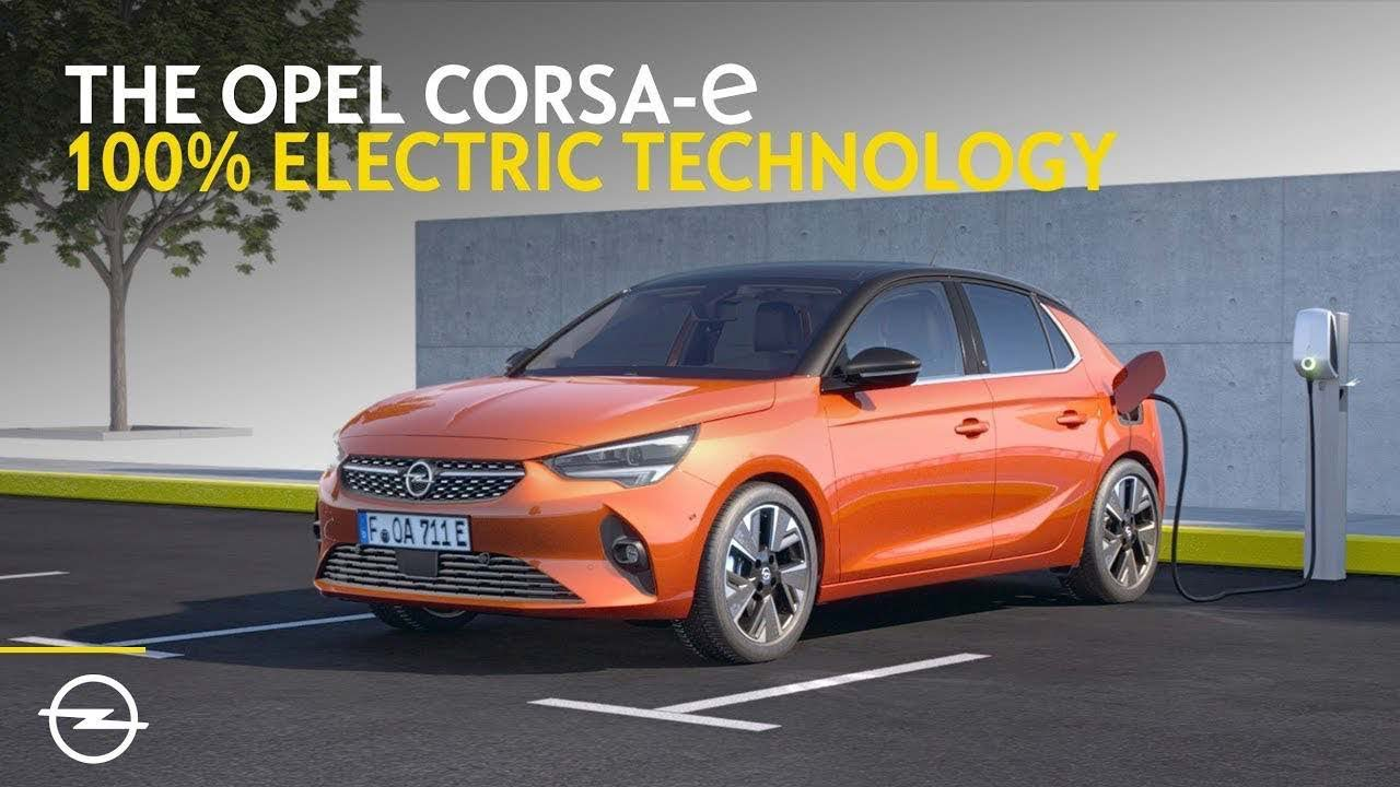 Az új Opel Corsa-e. Tisztán elektromos városi autó. Egyszerűen felvillanyoz!