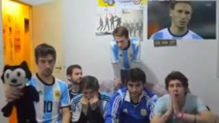 Hilarious reaction Argentina vs Chile (Copa America - Finale)