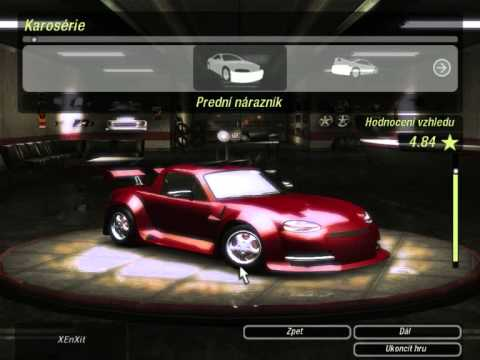 nfs u2 maximum tuning mazda mx 5 youtube. Black Bedroom Furniture Sets. Home Design Ideas