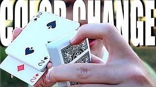 MEGA EINFACHER COLOR CHANGE TUTORIAL - Perfekt für Kartentricks | Erklärung zum Nachmachen