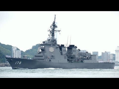 海上自衛隊 護衛艦あしがら 下関入港 JMSDF DDG-178 JS ASHIGARA