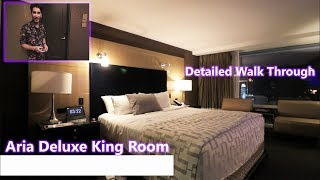 Aria Deluxe King Room (Strip View)