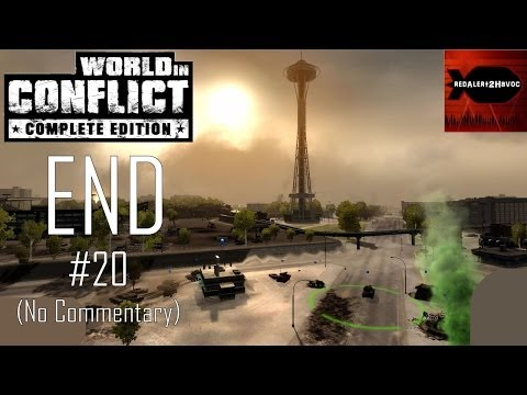 World in Conflict Complete Edition - Campaign Playthrough Part 20 FINAL (No commentary, Mission 20)