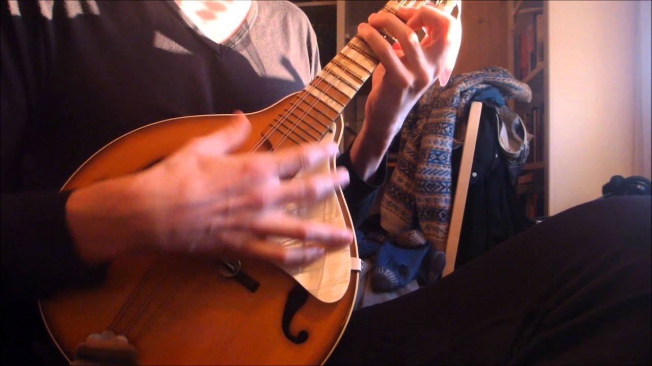 Hang Me Oh Hang Me Mandolin Cover Youtube