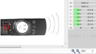 Tutorial robótica - Leitura de infravermelho através de controle remoto