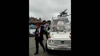 Wizyta papieża Franciszka w Częstochowie